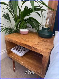023 Bedside Tables with copper legs