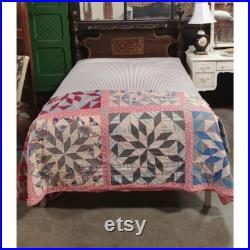 1840'S Bed With Original Paint Custom Base And New Custom Mattress 185885