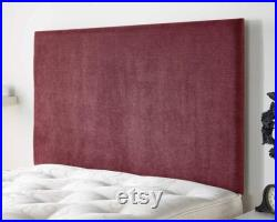Aspire Beds Ardley headboard in Kimiyo Linen Choice of 5 colours