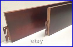 BH101-Cherry 80 Queen King Bed Rails