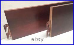 BH101-Cherry 82 Queen King Bed Rails