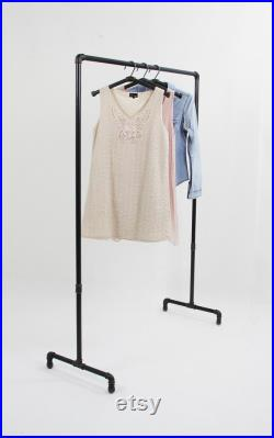 Clothes rack industrial design steel tube wedding bow wedding decoration photo booth