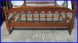 Ethan Allen Cherry Bed Full Double Poster