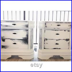 Hand painted Night Stand