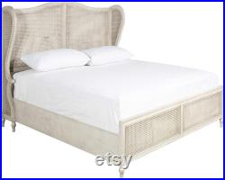 Hillsdale Furniture Sausalito Bed, King, Antique White