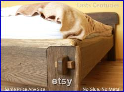 Live Edge Bed Natural, King, Queen, Any size, Bett, Cama, Fumed Oak