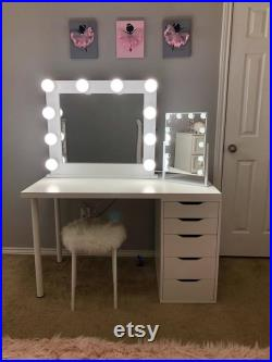 Low shipping and financing Vanity Mirror with lights