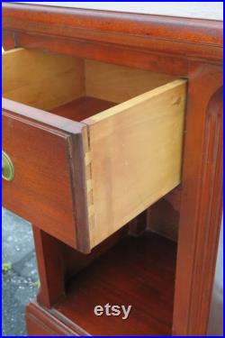 Mahogany Tall Nightstand Side End Table 1415 SHIPPING NOT INCLUDED Please ask for shipping quote
