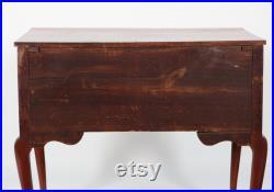 Mid 18th Century American Queen Anne Cherrywood Dressing Table