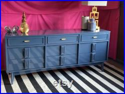 Mid Century Mayan Dresser Custom Lacquered Free Shipping