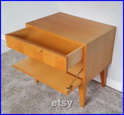 Mid century modern cabinet or night stand, solid wood, Danish design, 60s vintage