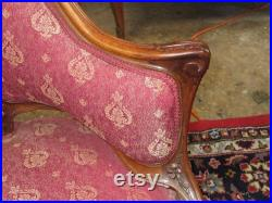Pair of French Louis XV Style Parlor Chairs