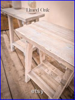 Small Rustic Side Table Reclaimed Wood Bedside Table Wooden Stool