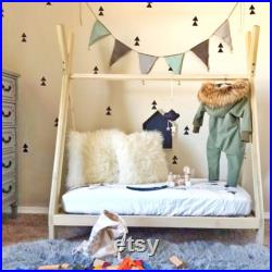 TeePee Bed Frame Toddler Size Made in US