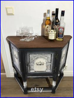 The Kings Whiskey Cabinet