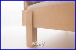 The Nordic Bed Modular Low Bed Birch Plywood International Custom Sizes Double Single King Customise Design Materials