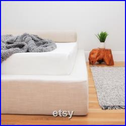 ULTRA SoftFrame Modern Platform Bed Frame, Plush Cushioned, Low Profile Bed Frame available only as a CUSTOM ORDER