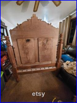 Victorian Rope Bed. Antique Bed Frame Full Size. Antique Bed. PRICE REDUCTION ALERT